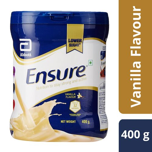 Ensure Nutritional Powder - Vanilla Flavour, 400 gm