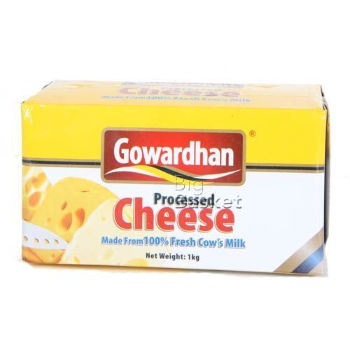 Gowardhan Cheese - Processed, 1 kg Carton