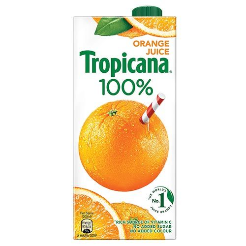 Tropicana 100% Juice - Orange,