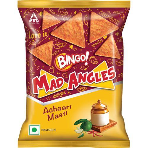 Bingo Mad Angles - Achaari Masti, 80 g Pouch