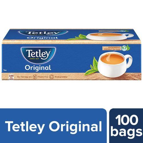 Tetley Tea - Regular, 200 g (100 Bags x 2 g each)
