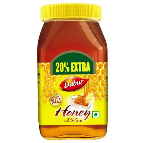 Dabur 100% Pure Honey, 250 g with 20% Extra