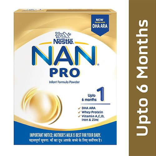 Buy Nestle Nan Pro Stage 1 400 Gm Carton Online At Best