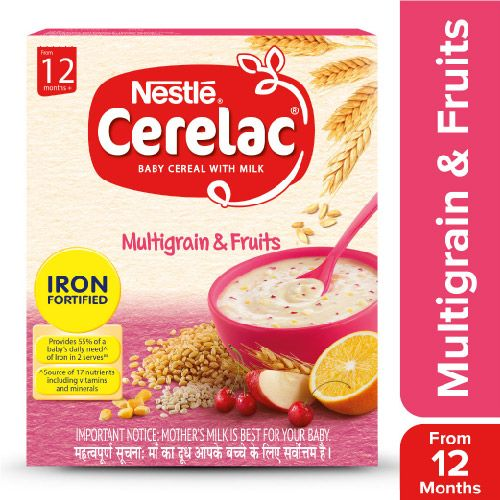 Buy Nestle Cerelac Stage 4 Multi Grain Amp Fruits 2x300 Gm
