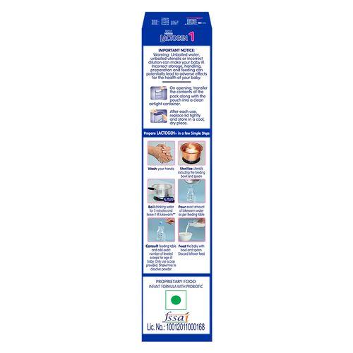 Buy Nestle Lactogen Infant Formula Stage 1 400 Gm