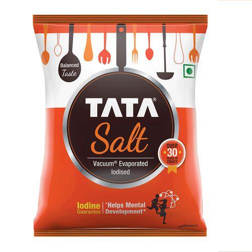Tata Salt Iodized, 1 kg Pouch