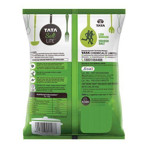 Tata Salt Salt - Lite, 1 kg Pouch