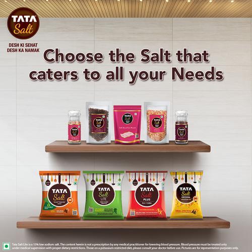 Tata Salt Lite, 1 kg Pouch