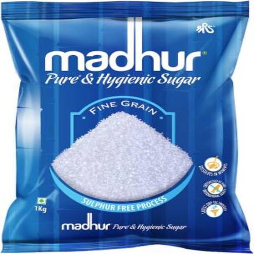 Madhur Sugar/Sakkare - Refined, 1 kg Pouch