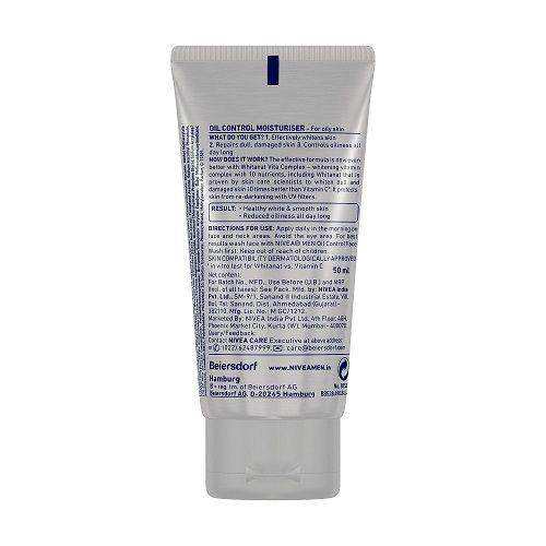 Nivea Men - Oil Control Moisturiser, 50 ml