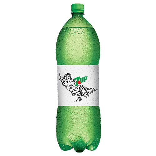 7 Up Soft Drink - Lemon, 2 L Bottle