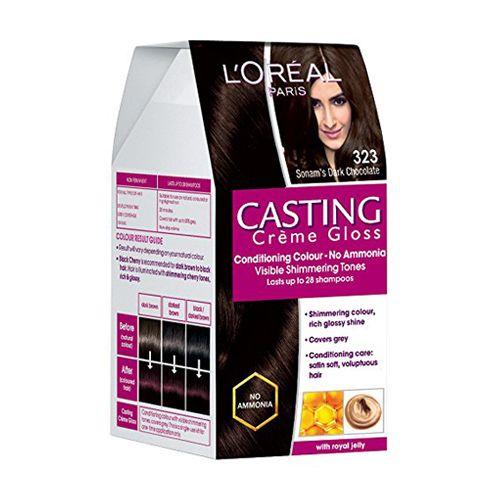 c0b60d480 Buy Loreal Paris Casting Creme Gloss Sonams Dark Chocolate 323 875 72 Ml  Online At Best Price - bigbasket
