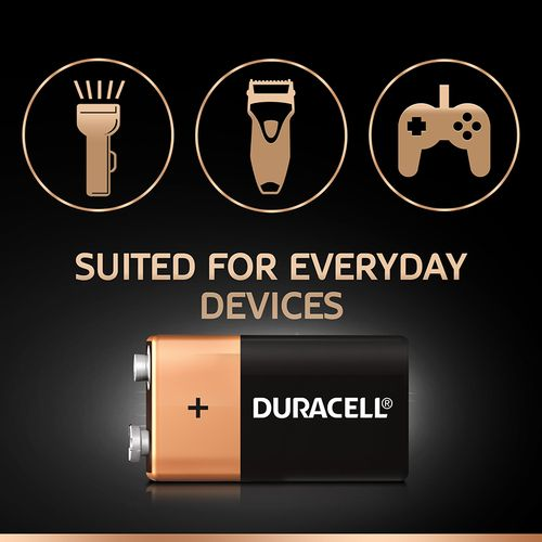 Duracell Ultra Alkaline Battery 9V, 1 pc