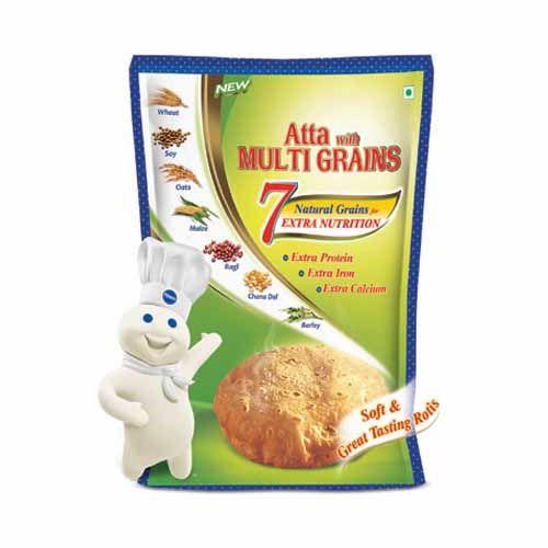 Pillsbury Atta - Multigrain, 5 kg Pouch