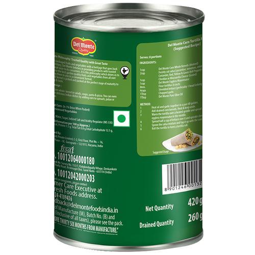 Del Monte Corn - Whole Kernel, 420 g Tin