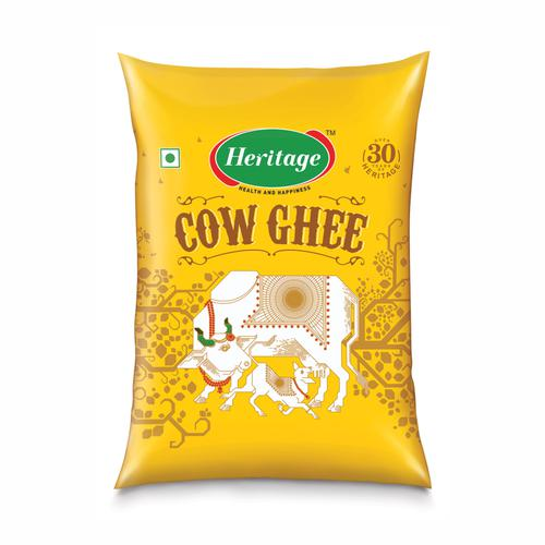 Heritage Cow Ghee - Agmark Special Grade Bring Home Health & Happiness, 1000 ml Pouch