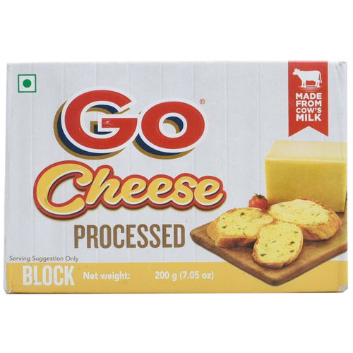 Gowardhan Processed Cheese, 200 gm Pouch