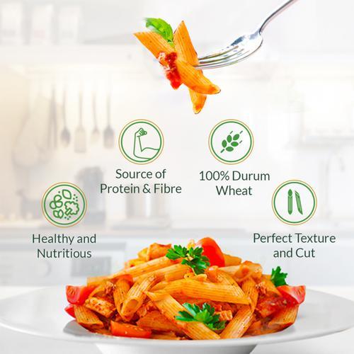 Del Monte Durum Wheat Pasta - Penne Rigate, 500 g