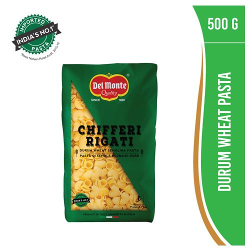 Del Monte Pasta - Chifferi Rigati, 500 gm
