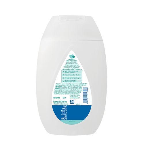 Johnson & Johnson Baby Milk Lotion, 100 ml