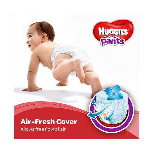 Huggies Wonder Pants Diapers Large, 16 pcs