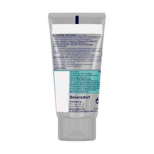Nivea Men - Oil Control Face Wash, 50 g