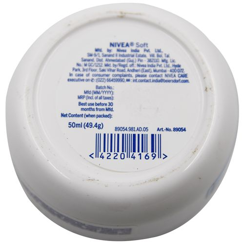 Nivea Soft Light Moisturising Cream, 50 ml