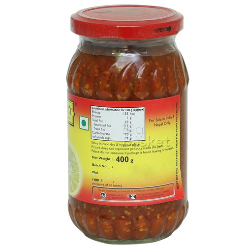 Mothers Recipe Pickle - Lime, 400 g Jar