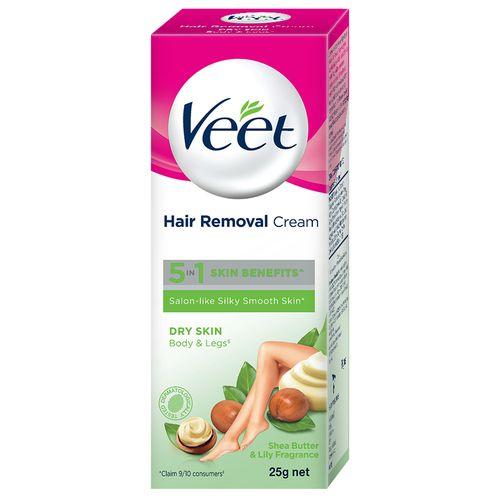 Veet Hair Removal Cream - Dry Skin, 25 g
