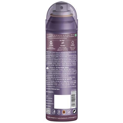 Eva Deodorant Body Spray - Urbane (Floral Fusion), 125 ml