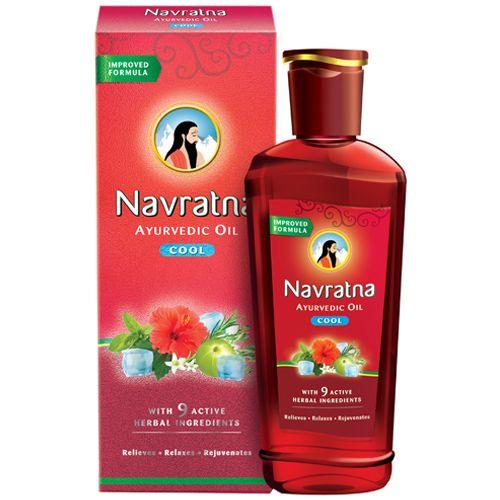 Navratna Oil - Ayurvedic, Cool, 200 ml