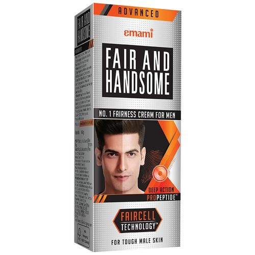 FAIR AND HANDSOME Fairness Cream - Deep Action, For Men, 60 g