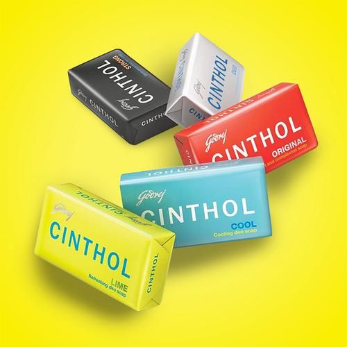 Cinthol Lime Bath Soap - 99.9% Germ Protection, 75 g (Pack of 4)