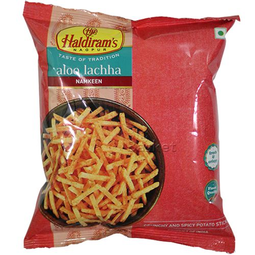 Haldirams  Namkeen - Aloo Lachha, 100 g Pouch