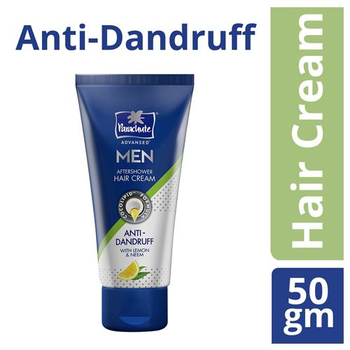 Parachute Advansed Men Hair Cream - Anti-Dandruff, 50 gm