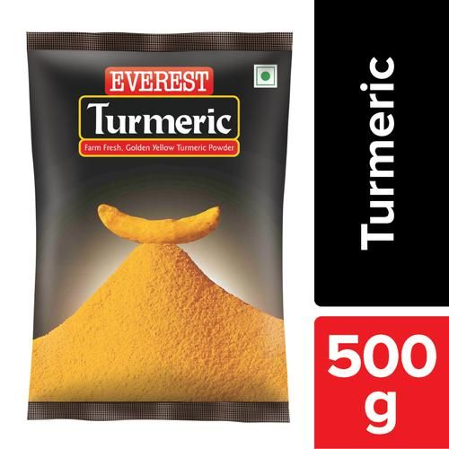 Everest Turmeric Powder/Arisina Pudi, 500 g Pouch