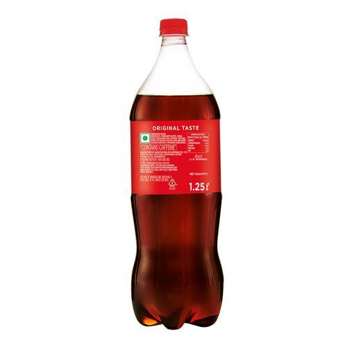 Coca Cola Soft Drink, 1.25 L Bottle