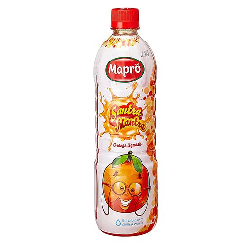 Mapro Squash - Santra Mantra/Orange, 1 L Bottle