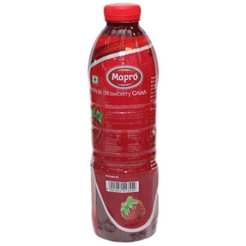 Mapro Whole Strawberry Crush, 1 lt