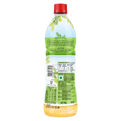 Kissan Squash - Pineapple, 750 ml Bottle