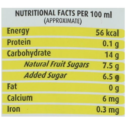 Real Juice - Fruit Power, Pineapple, 200 ml