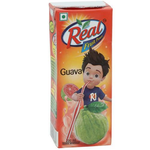Real Juice - Fruit Power, Guava/Amrud, 200 ml