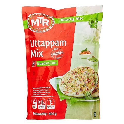 MTR Breakfast Mix - Uttappam, 500 g Pouch