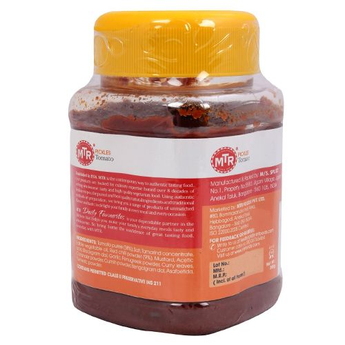 MTR Pickle - Tomato, 500 gm Jar