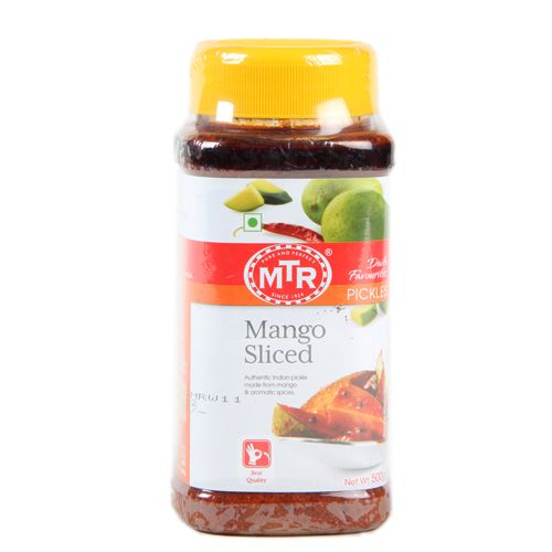 MTR Pickle - Mango Sliced, 500 gm Jar