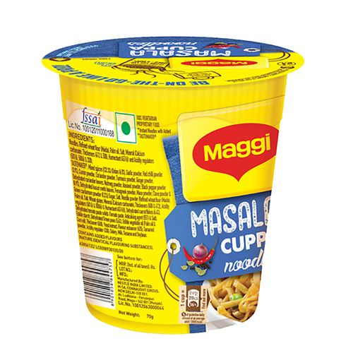 MAGGI  Cuppa Masala Noodles, 70 gm