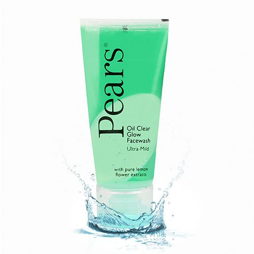 Pears Face Wash - Oil Clear Glow, 60 gm