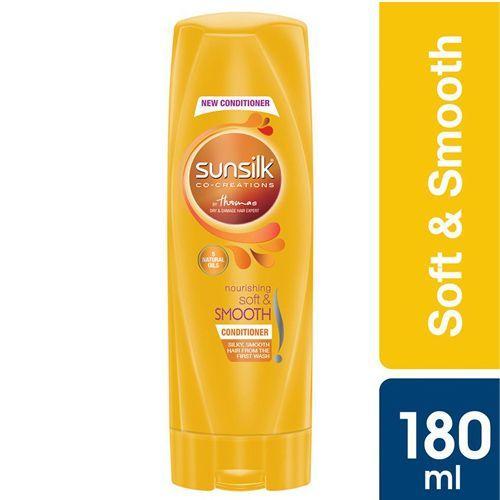 Sunsilk Conditioner - Nourishing Soft & Smooth, 180 ml