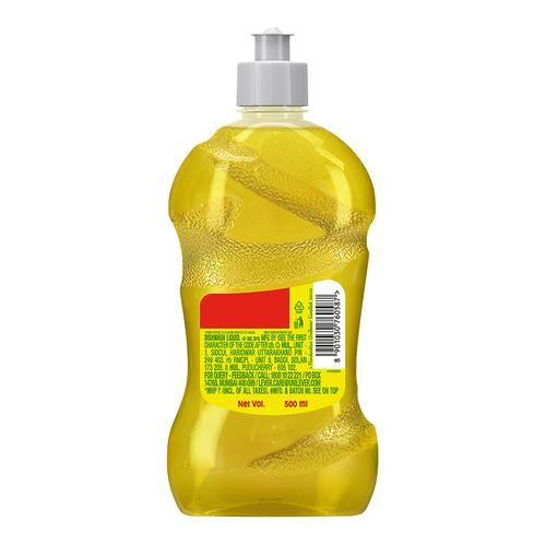Vim Dishwash Liquid - Gel Lemon, 500 ml Bottle
