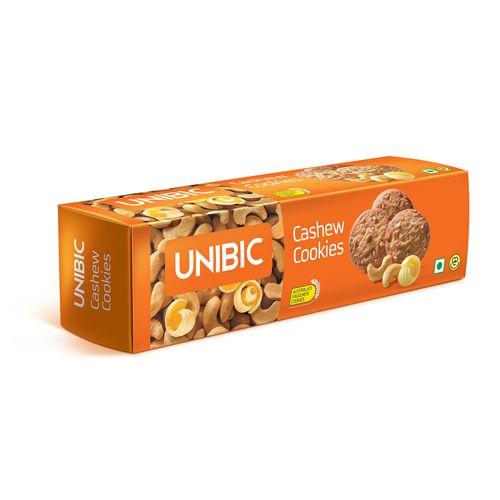 Unibic Cookies - Cashew, 150 gm Carton